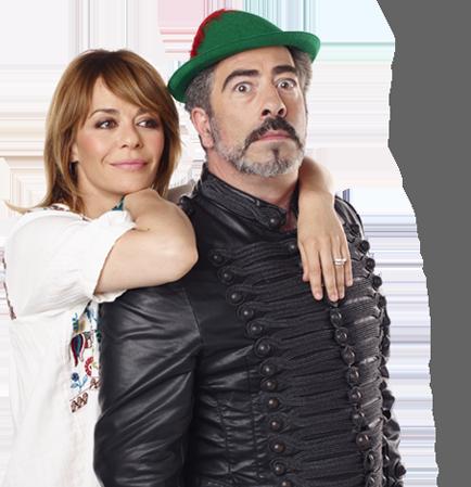 María y Agustín